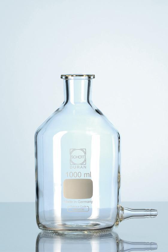 Frasco mariotte oliva de vidro