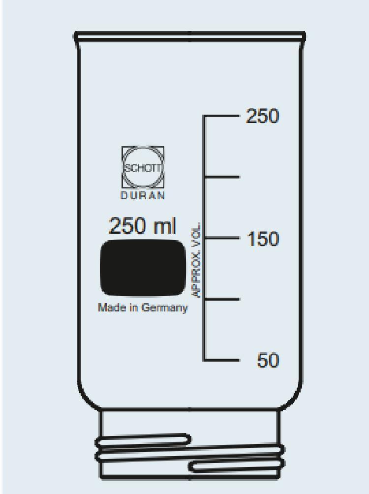 Cabeça de filtro DURAN®