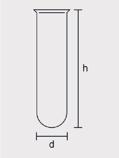 Tubo de Crioscopia com Orla Manual