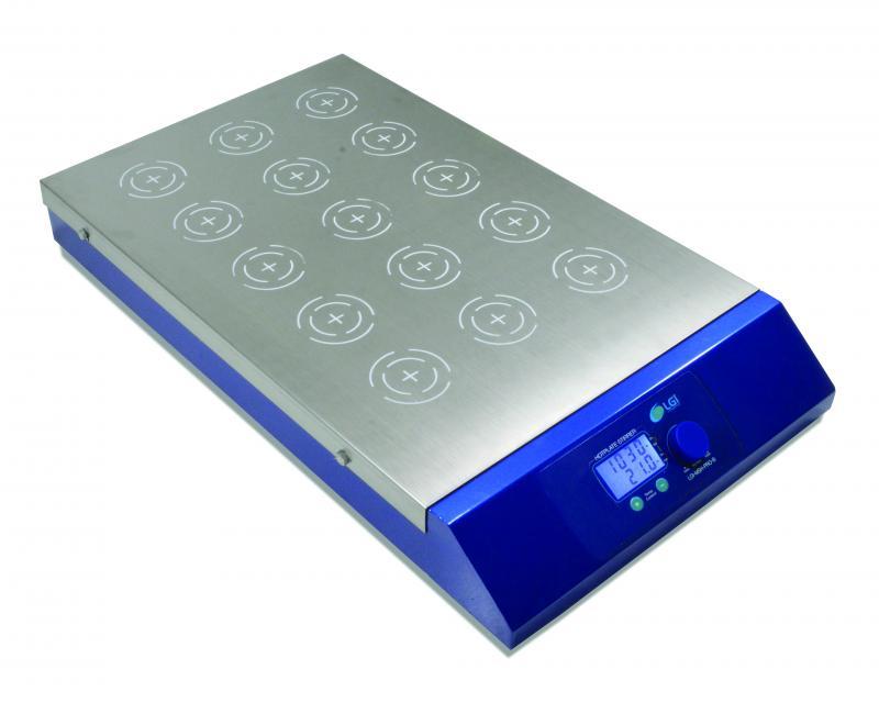 Agitador Magnético Multiposição com Aquecimento - LGI-MSH-PRO-B
