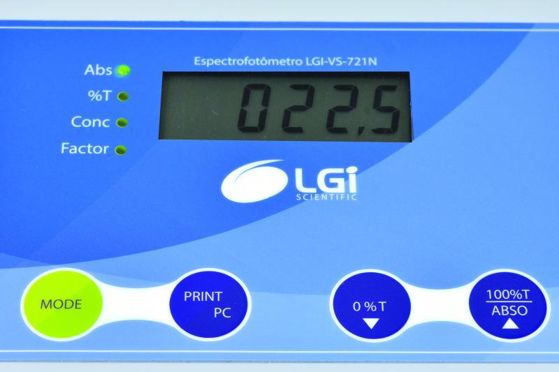 Espectrofotômetro - LGI-VS-721N