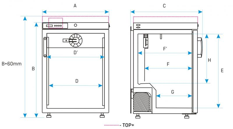 Incubadoras de DBO ST-BD de baixa temperatura