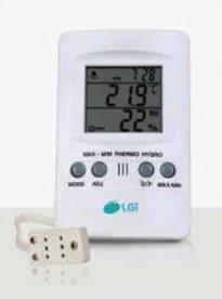 Termo-higrômetro com sonda externa - LGI-TH-DI-SE