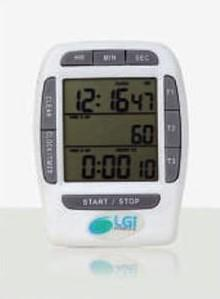Timer multicanal 3 tempos, temporizador e cronômetro - LGI-CRO-3T