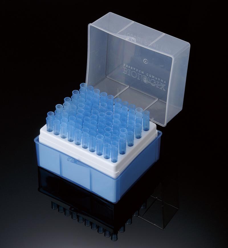 Ponteiras para micropipeta com filtro ( Rack com 96 Pçs.)