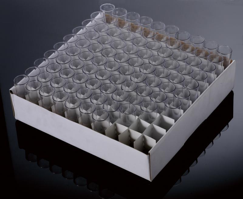 Vial para drosófila em Poliestireno
