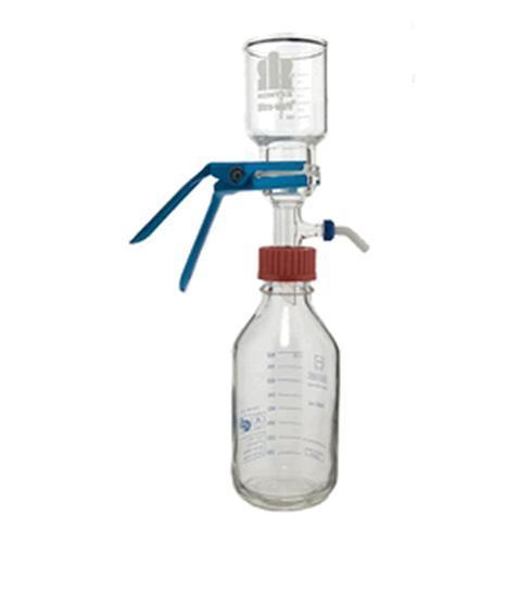 Conjunto de microfiltração ULTRA-WARE - 47 mm, com suporte de aço inoxidável e frasco GL 45