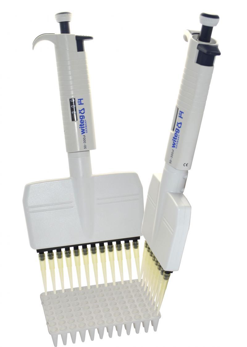 Pipetas de microlitro Witopet - Multi-canal