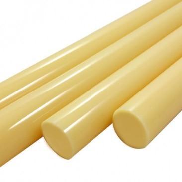 Bastões de vidro Boro - Amarelo opaco