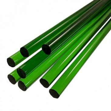 Bastões de vidro Boro - Verde