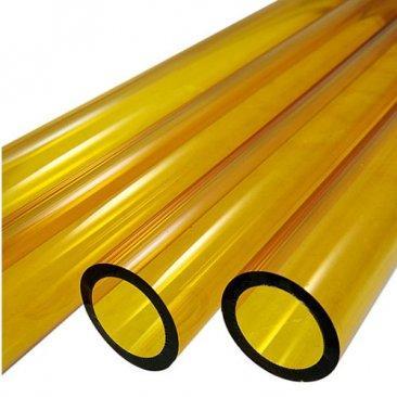 Tubos de vidro Boro - Amarelo