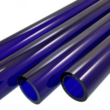 Tubos de vidro Boro - Azul escuro