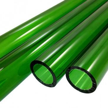 Tubos de vidro Boro - Verde
