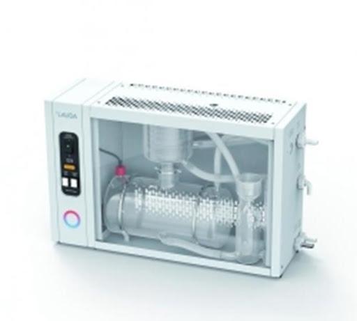 Destilador de água de vidro