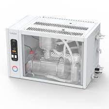 Destilador de água duplo de vidro