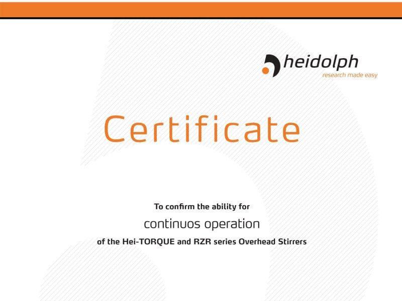 Certificado HEI-TORQUE