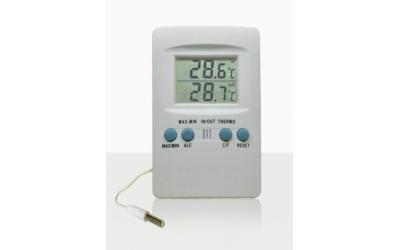 Termômetro Digital Interno e Externo com Temperatura Máxima e Mínima