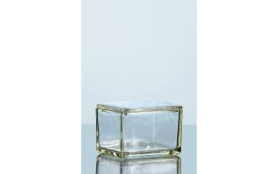Caixa de vidro em vidro de soda