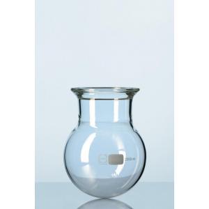Reator de vidro fundo redondo com flange esmerilhada Schott