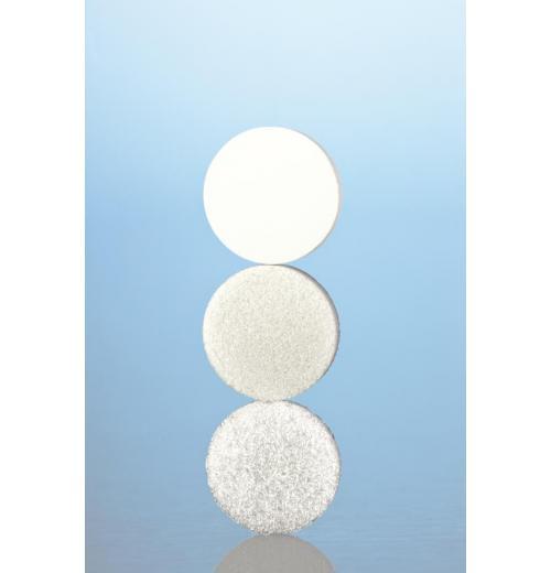 Placa porosa (filtrante), schott porosidade 0, 1, 2 ou 3