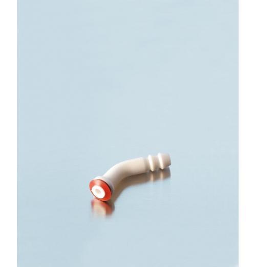 Conexão de mangueira de plástico dobrada de PP