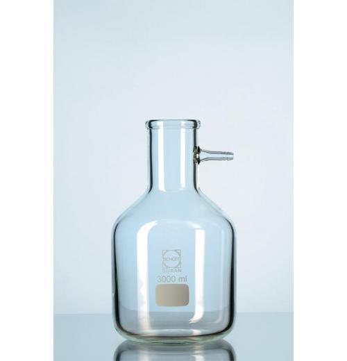 Frasco de Filtragem DURAN® com conexão de mangueira de vidro