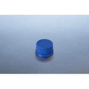 Tampa de plástico em pp (azul)