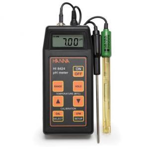 Medidor de pH/ORP portátil, com CAT e função hold