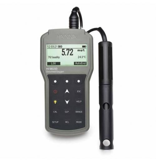 Medidor portátil à prova d'água para Oxigênio Dissolvido e DBO