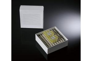 Caixa de Fibra de Papelão para Tubos e Microtubos