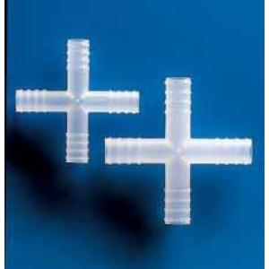 Conexões e adaptadores em cruz para mangueira, em PP - Kartell